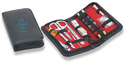 Custom imprinted Sewing/Manicure Kit with Case