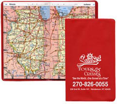 Custom imprinted Pocket Atlas