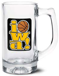 Custom imprinted Basketball Sports Stein
