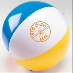 Custom imprinted Beach Ball
