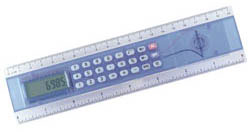 Custom imprinted Ruler/Calculator