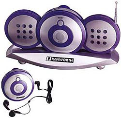 Custom imprinted Walk-A-Bout Office Radio