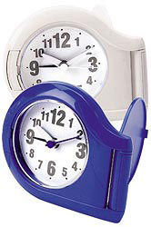 Custom imprinted CLOSEOUT Analog Flip Alarm Clock