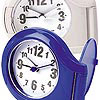 CLOSEOUT Analog Flip Alarm Clock