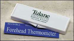 Custom imprinted Forehead Thermometer Kit