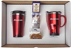 Custom imprinted Acrysteel Mug/Tumbler Gift Set