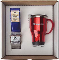 Custom imprinted Acrysteel Mug Gift Set