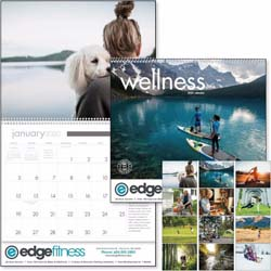Custom imprinted Wellness Calendar