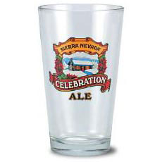 Custom imprinted 16 oz Brewery Glass