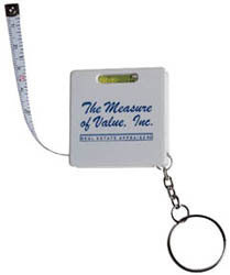 Custom imprinted Leveler Tape Measure