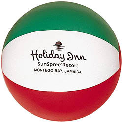 Custom imprinted Beach Ball - 12 Inch