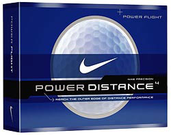 Custom imprinted Nike Power Flight Golf Ball