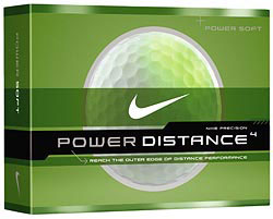Custom imprinted Nike Power Soft Golf Ball
