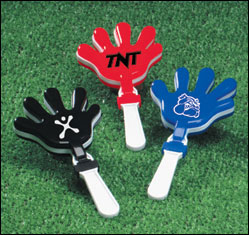 Custom imprinted Hand Clappers
