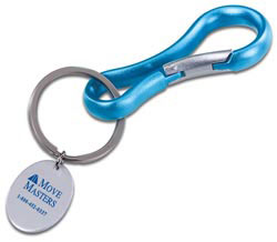 Custom imprinted Astro Carabiner Key Holder