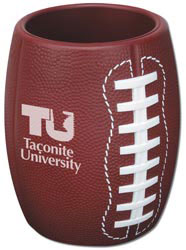 Custom imprinted Football Can Holder