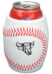 Custom imprinted Baseball Can Holder