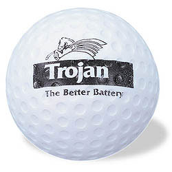 Custom imprinted Golf Ball Stress Reliever
