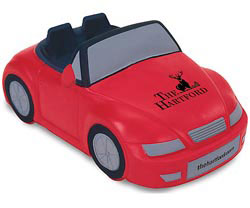 Custom imprinted Convertible Car Stress Reliever