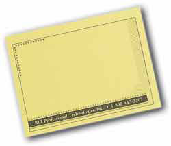 Custom imprinted Post-it(R) Note Notepads 100 Sheets 4