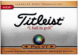 Custom imprinted Titleist Pro V1 Golf Ball