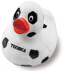Custom imprinted Soccer Duck