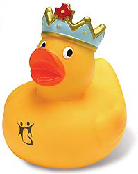 Custom imprinted King Duck