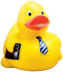 Custom imprinted Executive Duck
