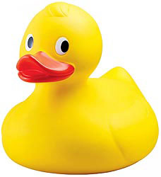 Custom imprinted Colossal Rubber Duck