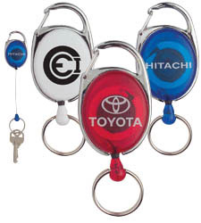 Custom imprinted Retractable Keyring
