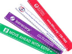 Custom imprinted Promotional Ruler - 12