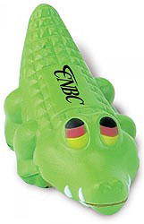 Custom imprinted Alligator Stress Reliever