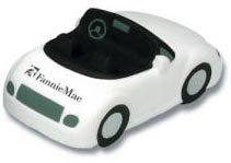 Custom imprinted Sports Cars Stress Reliever