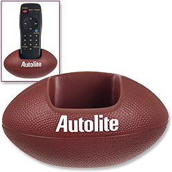 Custom imprinted Football Cell Phone/Remote Control Holder