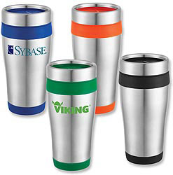 Custom imprinted Stainless Steel Travel Tumbler