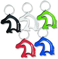 Custom imprinted Horse Head Shaped Bottle/Can Opener
