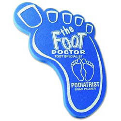 Custom imprinted Foam Big Foot Spirit Waver