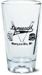 Custom imprinted Sport Cooler Baseball Glass