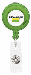 Custom imprinted Promo Retractable Badge Holder