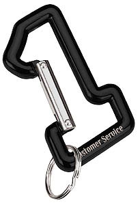 Custom imprinted #1 Carabiner
