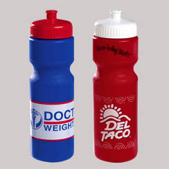 Custom imprinted 28 oz. Colored  Sports Bottle