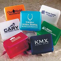 Custom imprinted Translucent Plastic Boxes