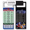 Magnetic NFL Football Schedule New York Giants / J