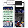 Magnetic NFL Football Schedule - St Louis Rams