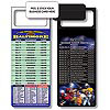 Magnetic NFL Football Schedule - Baltimore Ravens