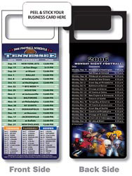 Custom imprinted Magnetic NFL Football Schedule - Tennessee Titans