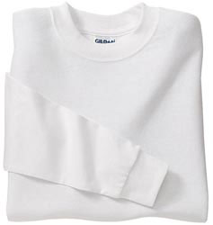 Custom imprinted Gildan Ultra Cotton Youth Long Sleeve T-Shirt