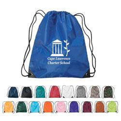 Custom imprinted Nylon Drawstring Small Sports Pack