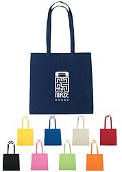 Custom imprinted 100% Cotton Tote