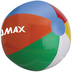 Custom imprinted Beach Ball - 16 Inch